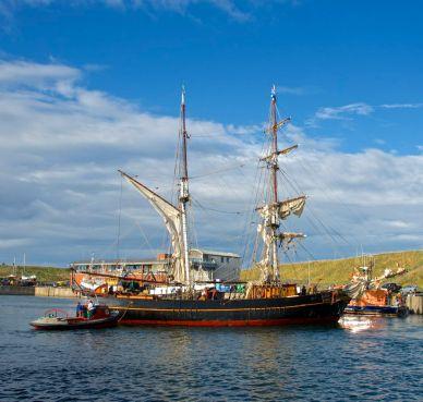tres hombres, Fairtransport, Eyemouth Harbour Trust